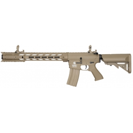 AEG 6mm Airsoft LT-25 G2 M4 SPR Interceptor pack complete Tan