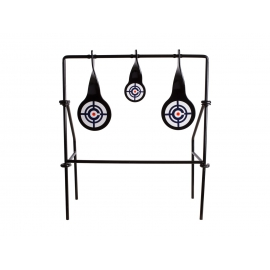 Airgun target swing for cal.22 heavy duty steel construction