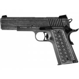 4,5mm CO2 Steel BB Airgun Sig Sauer type 1911 WE THE PEOPLE Blowback