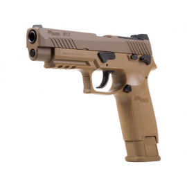 4,5mm CO2 Pellet Airgun Sig sauer P320 FDE M17 coyote