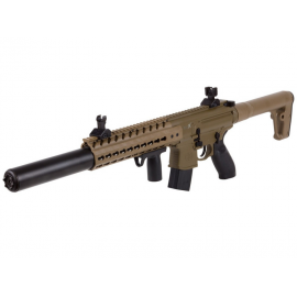 4,5mm / .177 CO2 air rifle Co2 SIG SAUER MCX FDE / TAN Diabolo CO2 88GR