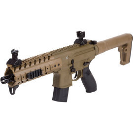 4,5mm / .177 CO2 air rifle Co2 SIG SAUER MPX FDE / TAN Diabolo CO2 88GR