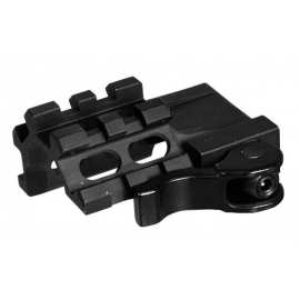 Angle Rail UTG Quad 1 slot 55 mm 16 mm