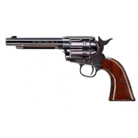 "4,5mm/.177 CO2 Pellet Airgun Colt SAA .45-5.5"" revolver Gold Edition"