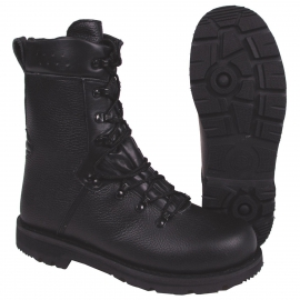 "Combat Boots, black, leather lining, Mod ""2000"""