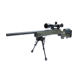 ASG VFC M40A3 Sniper rifle, OD green spring powered