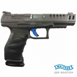 "9mm Walther PPQ Q5 Match CHAMPION 5"" Poly Frame"