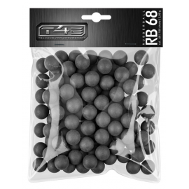 Cal .68 massief rubber ballen T4E