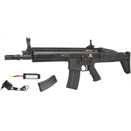 FN Herstal Licensed SCAR-L Airsoft AEG Rifle Softair CYMA 6mm