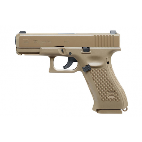 4,5 mm steel bb Co2 Blowback Umarex GLOCK 19X