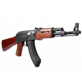 AEG 6mm Airsoft Kalashnikov ak 47 full metal real wood
