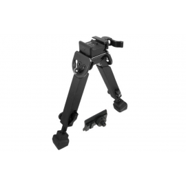 UTG Rubber Armored Full Metal QD Bipod 152-215mm