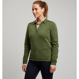 Le Chameau Woodchester Jumper Green dames