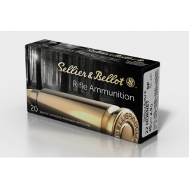 .22 Hornet Sellier & Bellot Soft point 145 grs (50 stuks)