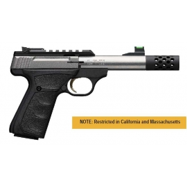 Limited Editions van de Browning Buck Mark Plus Micro Bull Stainless Suppressor Ready
