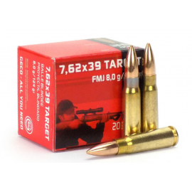 7,62x39 Geco Full Metal Jacket 124 Grain (50 Stuks)