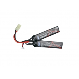 Battery, 7,4V 1300 mAh, LI-PO, sticks