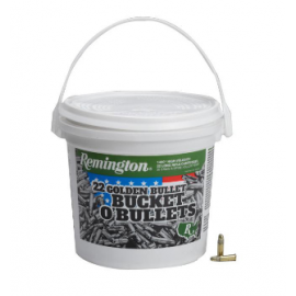 Kogelpatronen .22lr Remington High Velocity Rimfire Bucket 22LR 36Gr Hollow Point